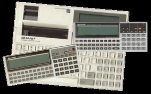 The Sharp PC-13xx series